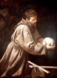 st-francis-and-skull